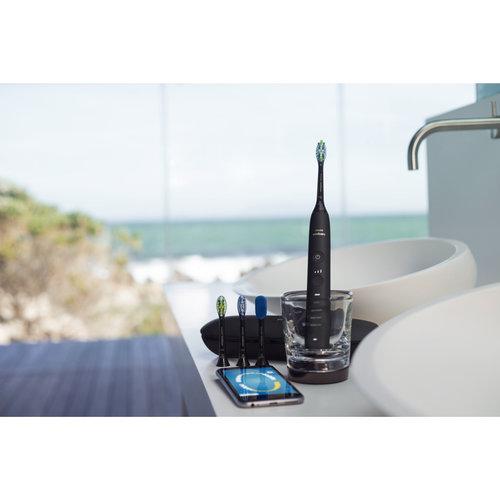 Philips  Philips DiamondClean Smart Elektrische Sonische tandenborstel met app zwart HX9924/13 - 1st