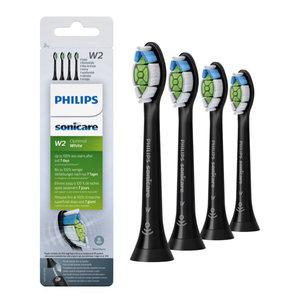 Philips  Philips Optimal White opzetborstels zwart HX6064/11 - 4st