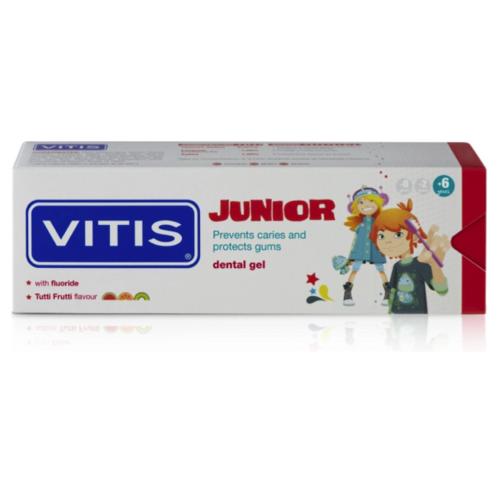 Vitis Vitis Junior Tandpasta Gel - 75ml