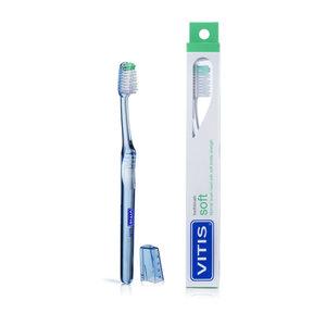 Vitis Vitis Tandenborstel Soft - 1st + Gratis Vitis Whitening Tandpasta Mini