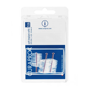 Curaprox  Curaprox CPS 516 Soft Implant ragers 16mm paars navulling – 3st