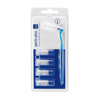 Curaprox CPS 410 Perio ragers 10mm blauw - 5st+houder