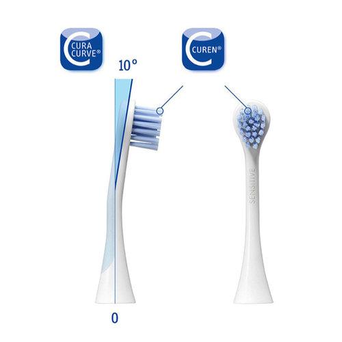 Curaprox  Curaprox Hydrosonic Sensitive opzetborstels - 2st