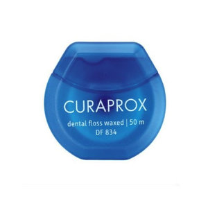 Curaprox  Curaprox DF 834 PTFE Dental Floss waxed - 50mtr