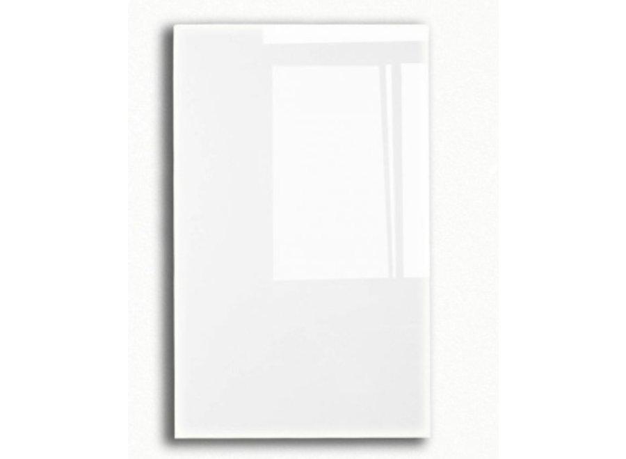 Design glasplaat wit