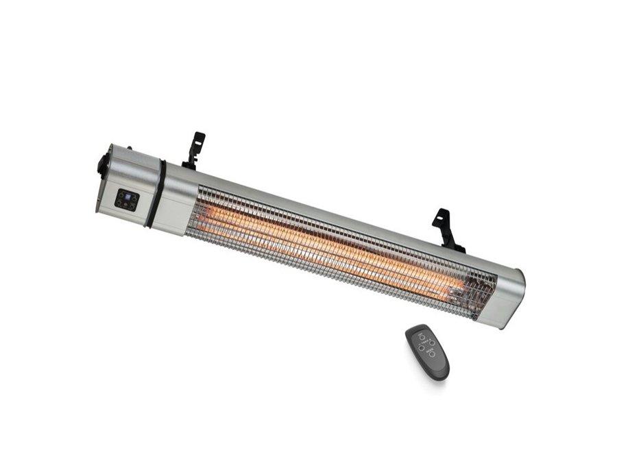Infrarood gouden heater 2400 Watt met afstandsbediening 3 standen