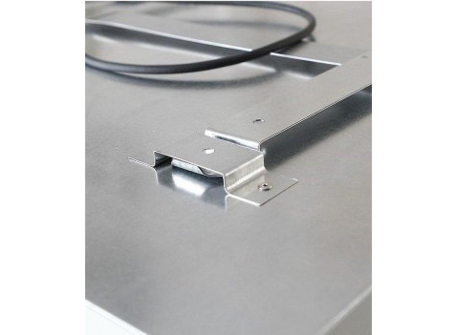 Ecosun korrel structuur infrarood paneel 119x59 700 Watt