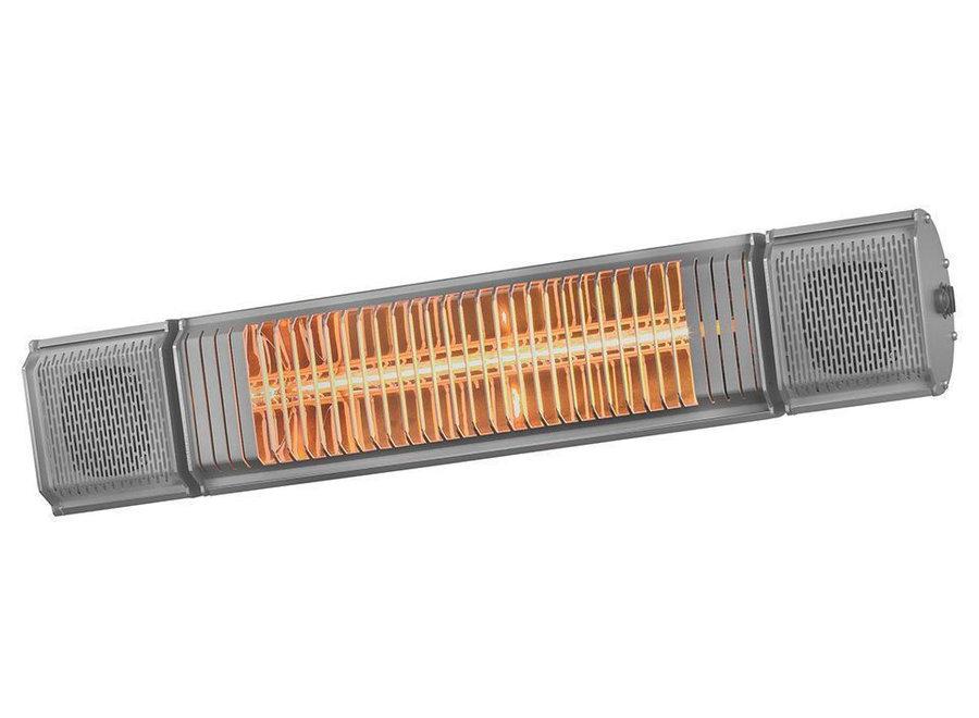 Heat&Beat Terrasverwarmer 2000Watt Antraciet