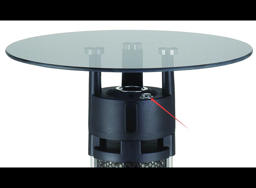 Hoog model infrarood tafel terrasheater 95 CM 1600Watt