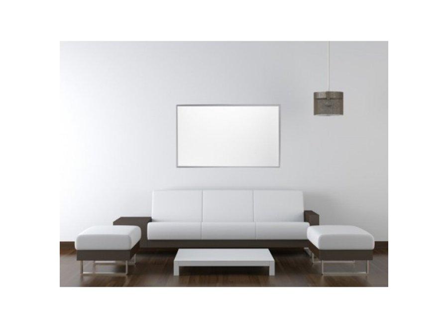 QH infrarood paneel met aluminium kader 900Watt 120x75 cm