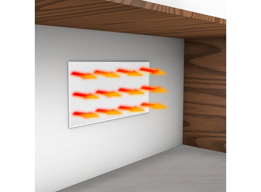 Bureauverwarming 135 Watt met aan/uit schakelaar (vast te schroeven)