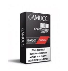 Gamucci Gamucci cartomizers Tabak regular 16 mg Nicotine 3 stuks