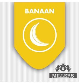 Millers Juice Miller Juice E-liquid Silverline 10 ml Banaan 0 mg