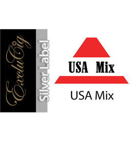 Exclucig Exclucig Silver Label E-liquid USA Mix 18 mg Nicotine