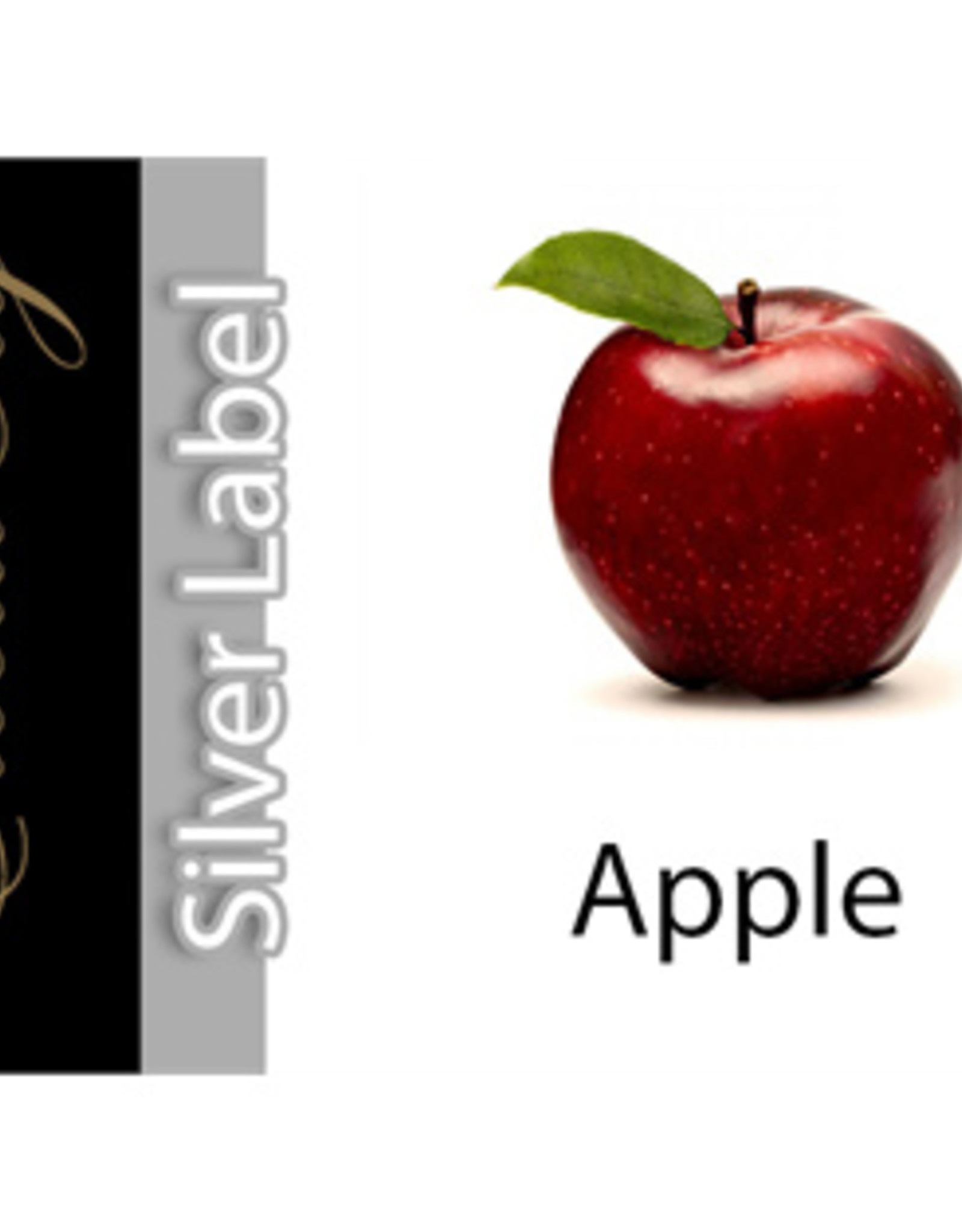 Exclucig Exclucig Silver Label E-liquid Apple 0 mg Nicotine