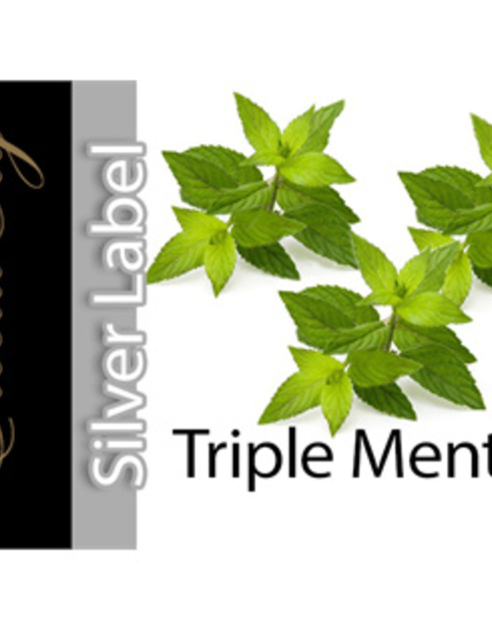 Exclucig Exclucig Silver Label E-liquid Triple Menthol 6 mg Nicotine