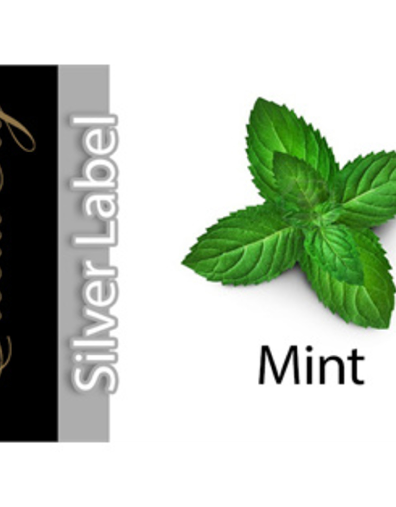Exclucig Exclucig Silver Label E-liquid Mint 0 mg Nicotine