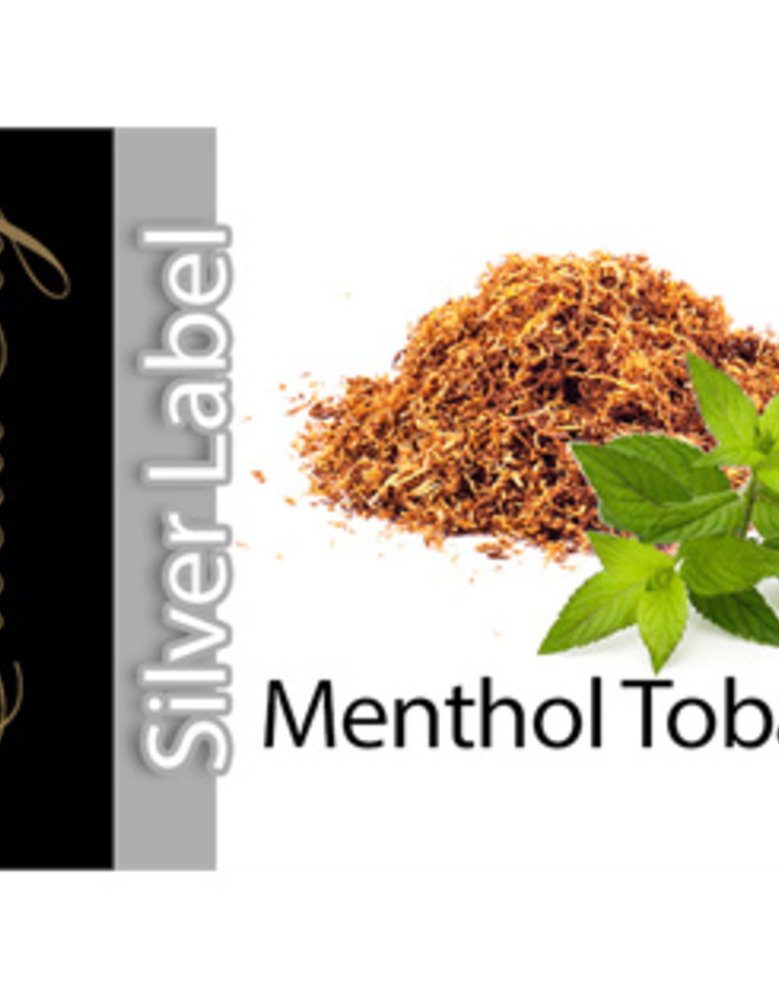 Exclucig Exclucig Silver Label E-liquid Menthol Tobacco 0 mg Nicotine