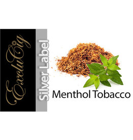 Exclucig Exclucig Silver Label E-liquid Menthol Tobacco 6 mg Nicotine
