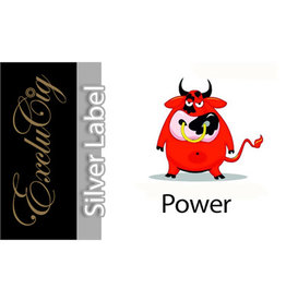 Exclucig Exclucig Silver Label E-liquid Power 6 mg Nicotine