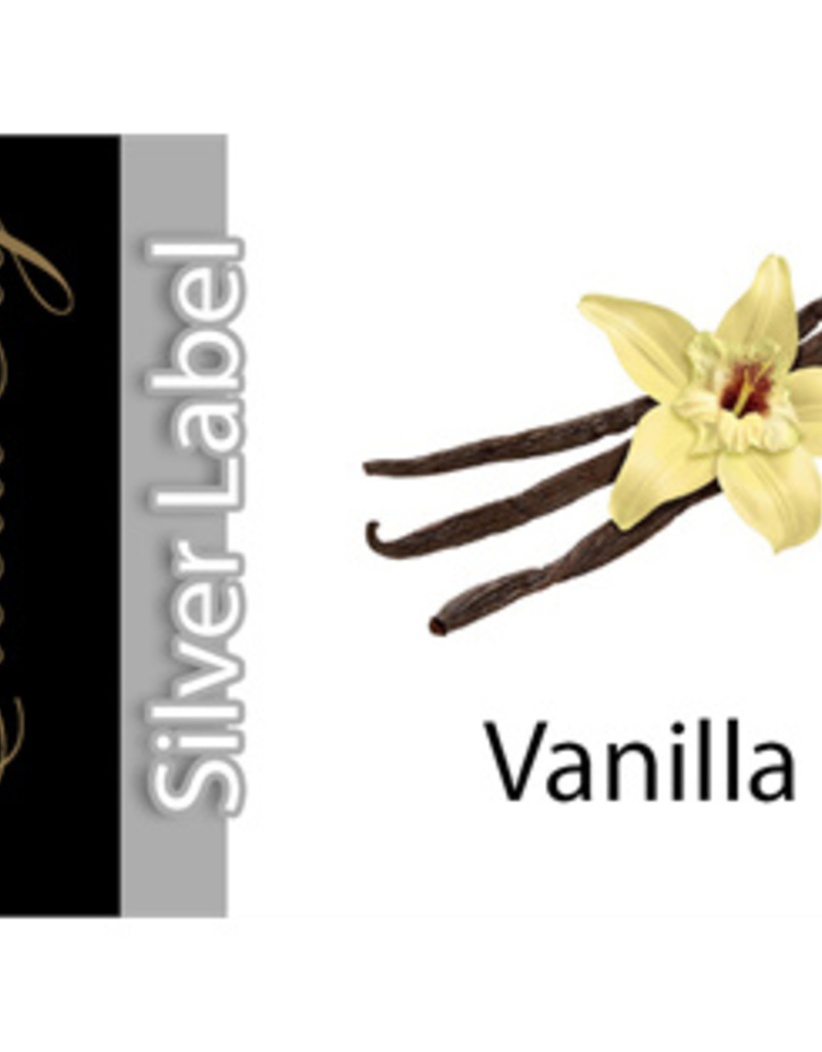 Exclucig Exclucig Silver Label E-liquid Vanilla 12 mg Nicotine