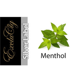 Exclucig Exclucig Silver Label E-liquid Menthol 0 mg Nicotine