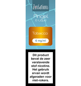 Zensations Zensations Angel E-Liquid Tobacco 6 mg Nicotine