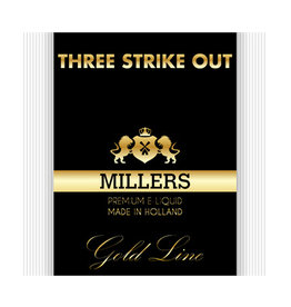 Millers Juice Miller Juice E-liquid Goldline VG 10 ml Three Strikes Out 12 mg