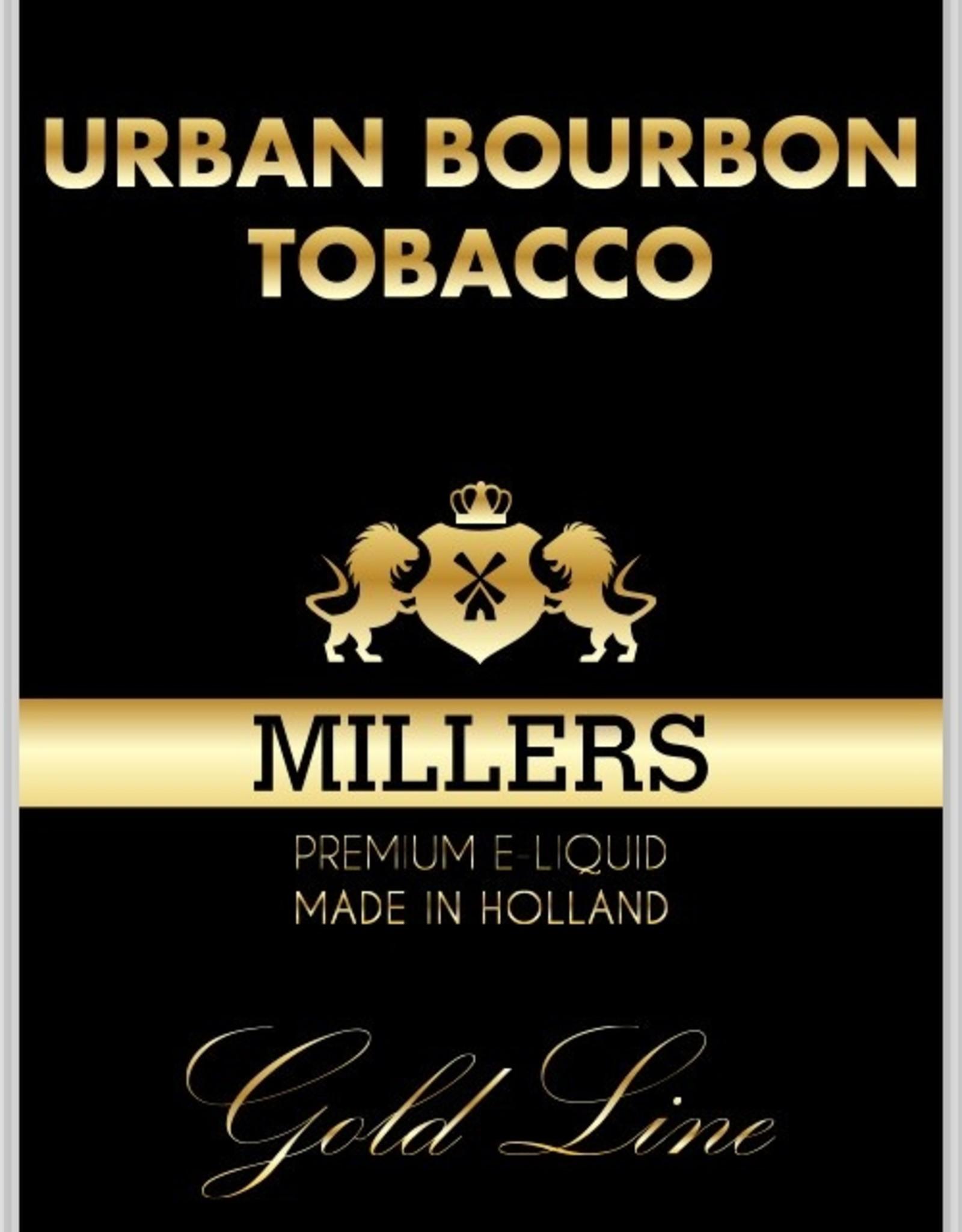 Millers Juice Miller Juice E-liquid Goldline 10 ml Urban Bourbon Tobacco 6 mg