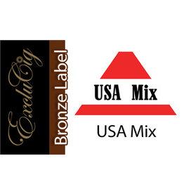 Exclucig Exclucig Bronze Label E-liquid USA Mix 0 mg Nicotine