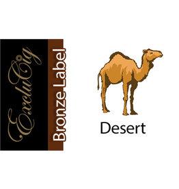 Exclucig Exclucig Bronze Label E-liquid Desert 3 mg Nicotine