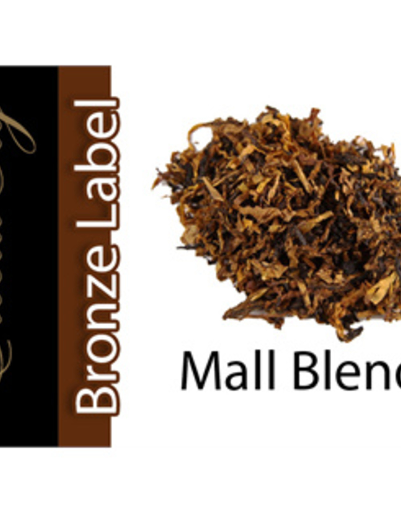 Exclucig Exclucig Bronze Label E-liquid Mall Blend 0 mg Nicotine