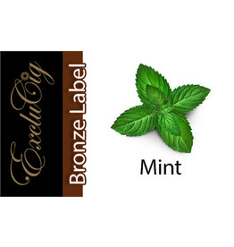 Exclucig Exclucig Bronze Label E-liquid Mint 0 mg Nicotine