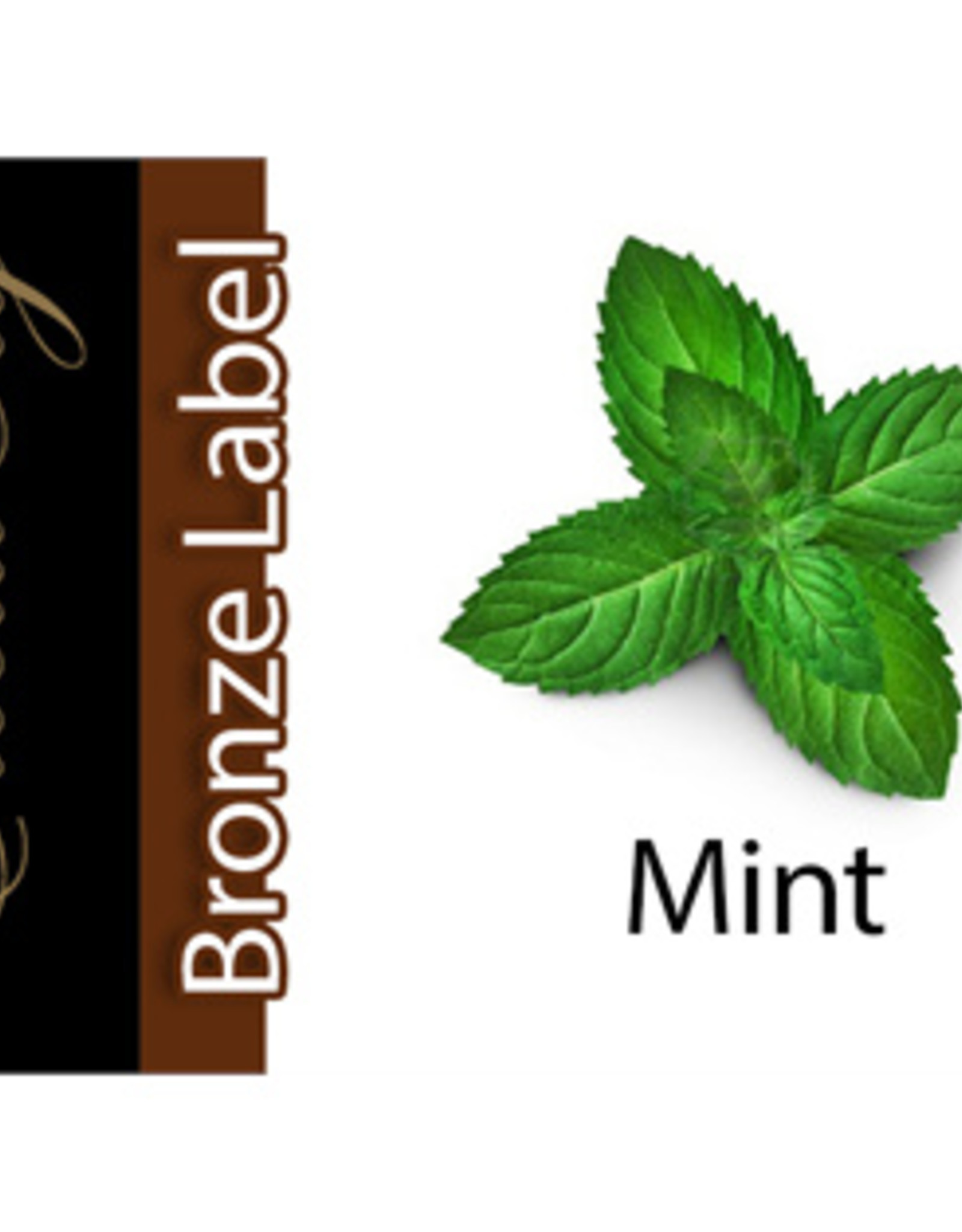 Exclucig Exclucig Bronze Label E-liquid Mint 12 mg Nicotine