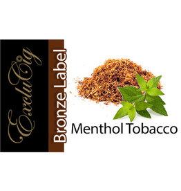 Exclucig Exclucig Bronze Label E-liquid Menthol Tobacco 0 mg Nicotine