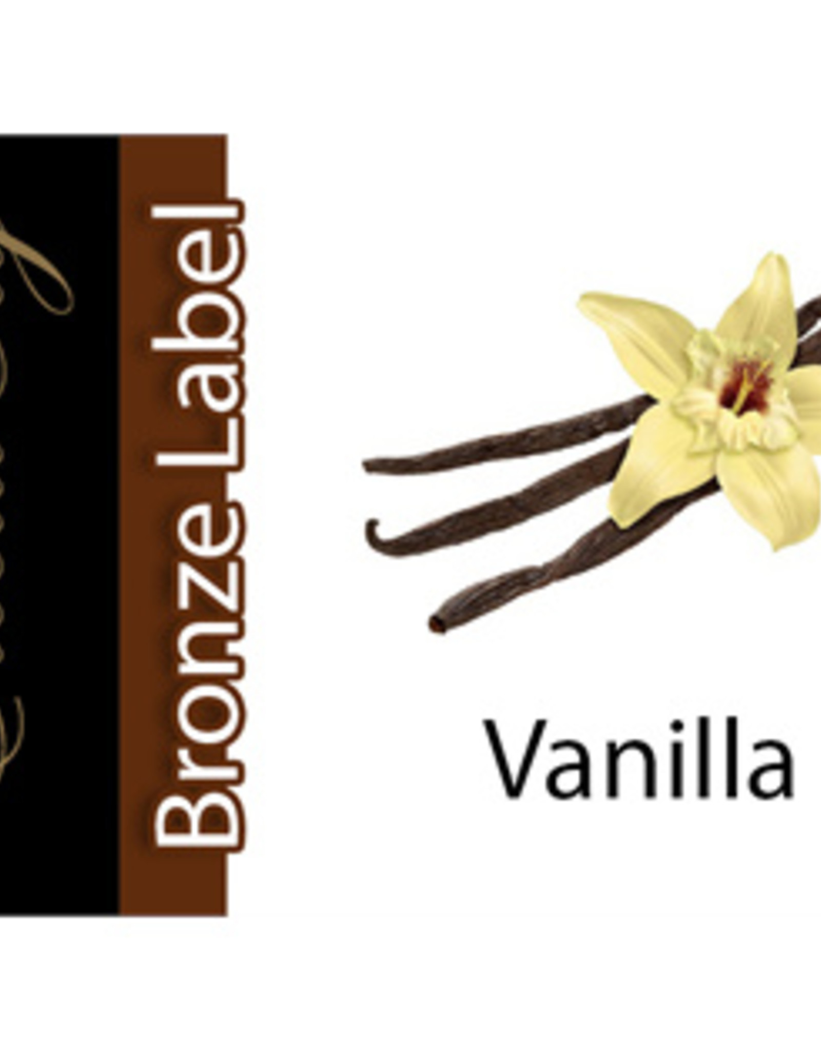 Exclucig Exclucig Bronze Label E-liquid Vanilla 3 mg Nicotine
