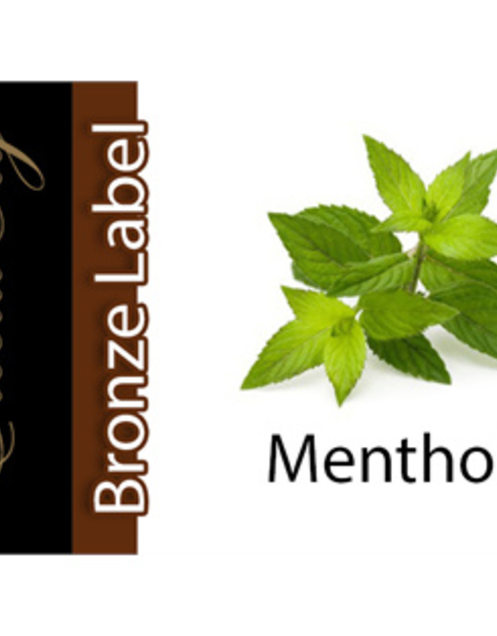 Exclucig Exclucig Bronze Label E-liquid Menthol 6 mg Nicotine