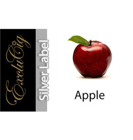 Exclucig Exclucig Silver Label E-liquid Apple 3 mg Nicotine