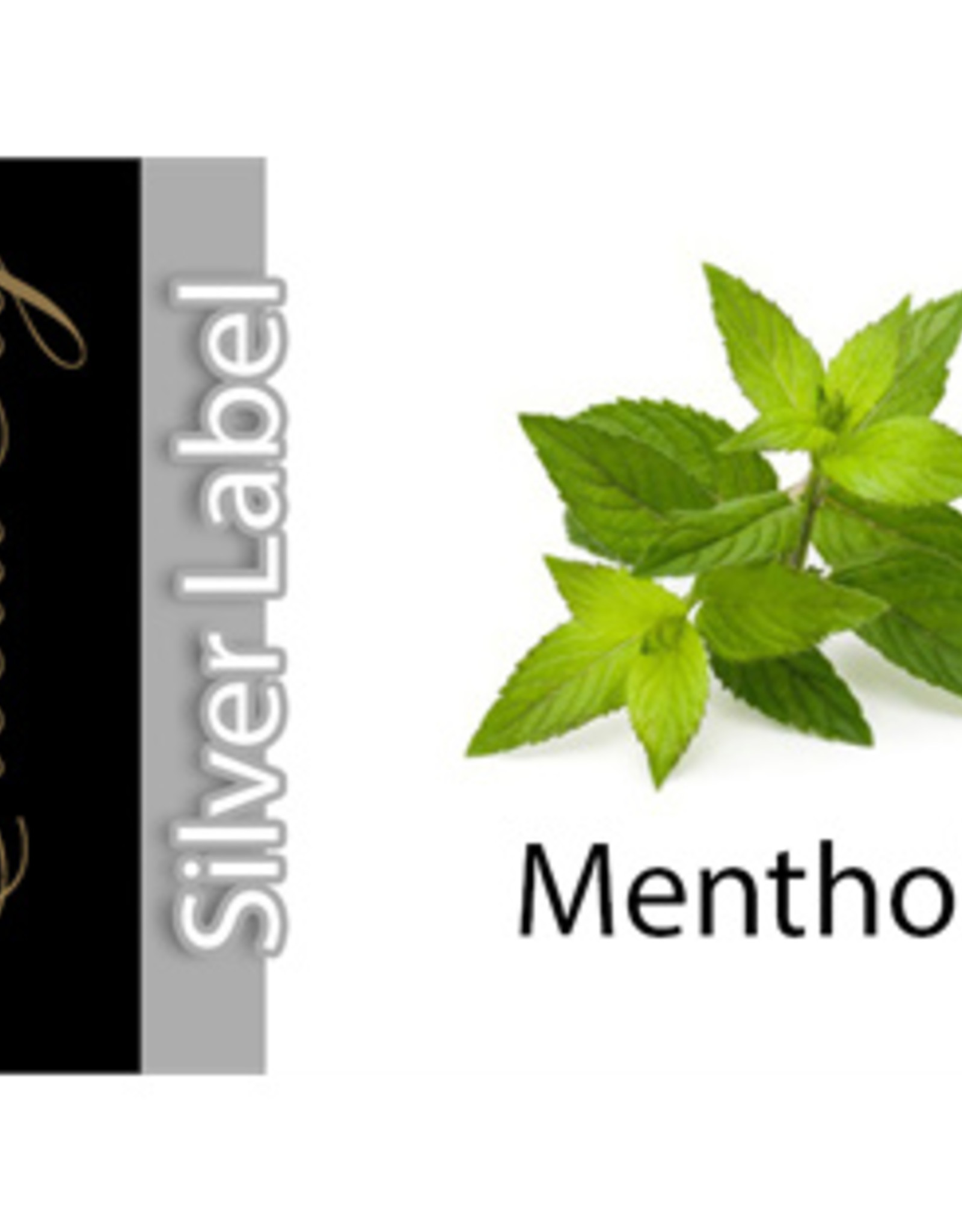 Exclucig Exclucig Silver Label E-liquid Menthol 3 mg Nicotine