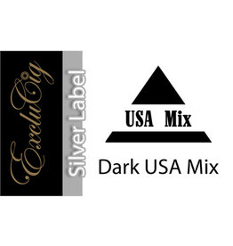 Exclucig Exclucig Silver Label E-liquid Dark USA Mix 12 mg Nicotine