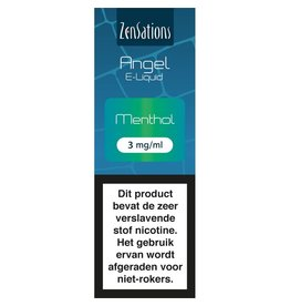 Zensations Zensations Angel E-Liquid Menthol 3 mg Nicotine