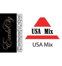 Exclucig Exclucig Diamond Label E-liquid USA Mix 0 mg Nicotine