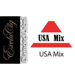 Exclucig Exclucig Diamond Label E-liquid USA Mix 6 mg Nicotine
