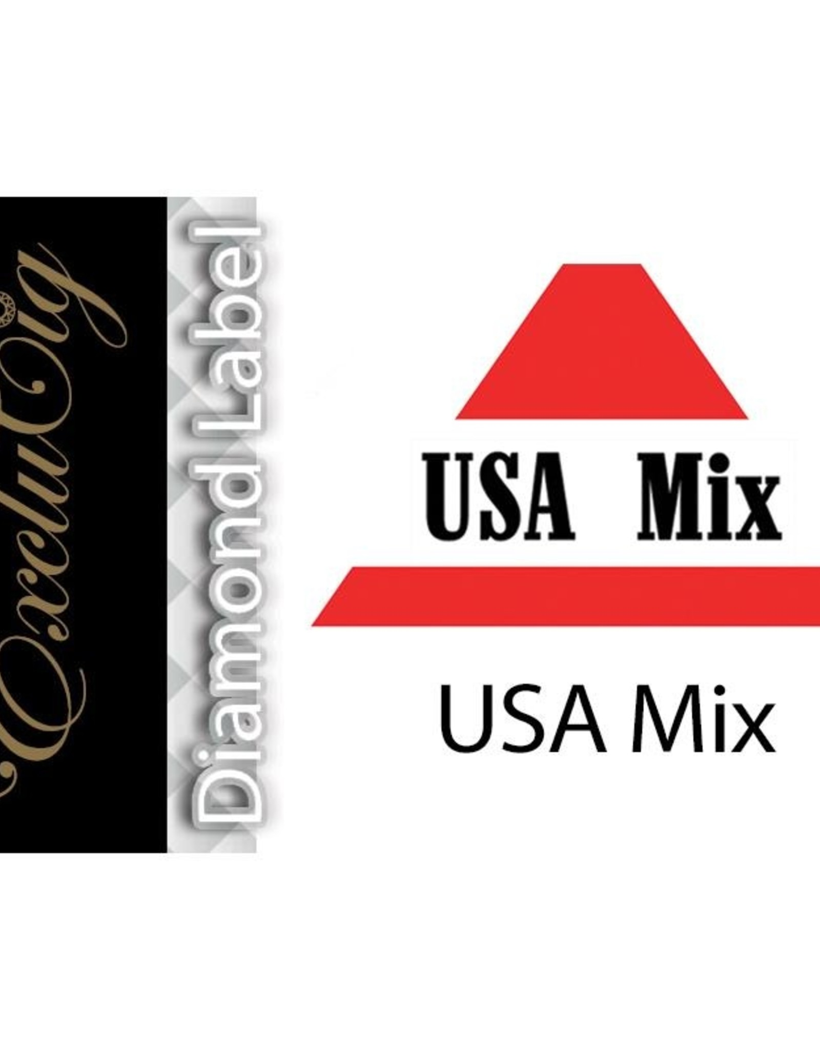 Exclucig Exclucig Diamond Label E-liquid USA Mix 12 mg Nicotine