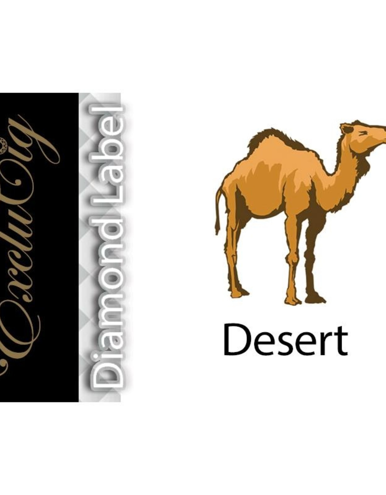 Exclucig Exclucig Diamond Label E-liquid Desert 18 mg Nicotine