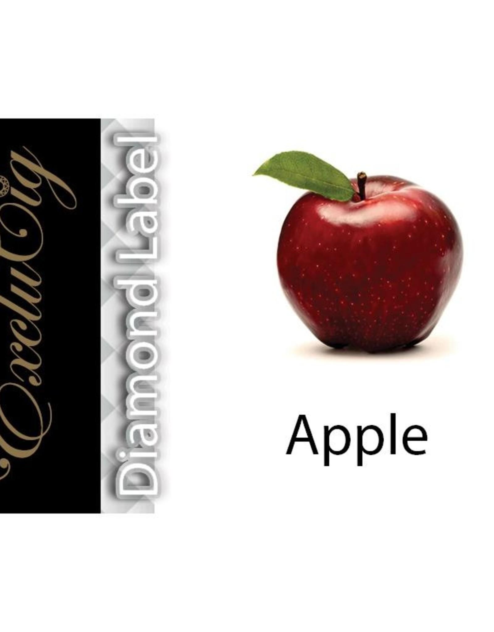 Exclucig Exclucig Diamond Label E-liquid Apple 12 mg Nicotine
