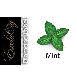 Exclucig Exclucig Diamond Label E-liquid Mint 0 mg Nicotine