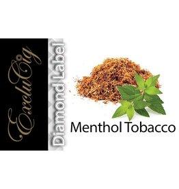 Exclucig Exclucig Diamond Label E-liquid Menthol Tobacco 0 mg Nicotine
