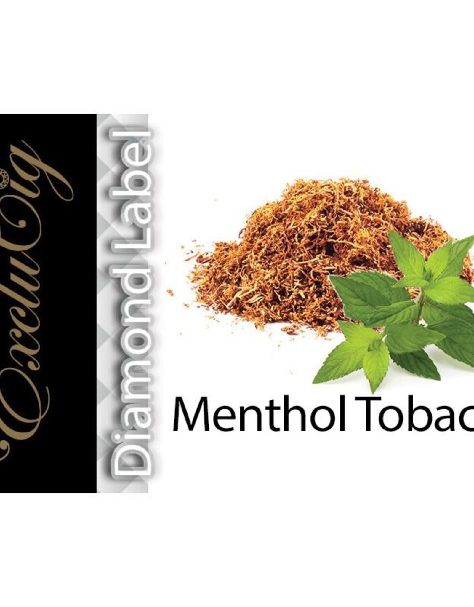 Exclucig Exclucig Diamond Label E-liquid Menthol Tobacco 6 mg Nicotine
