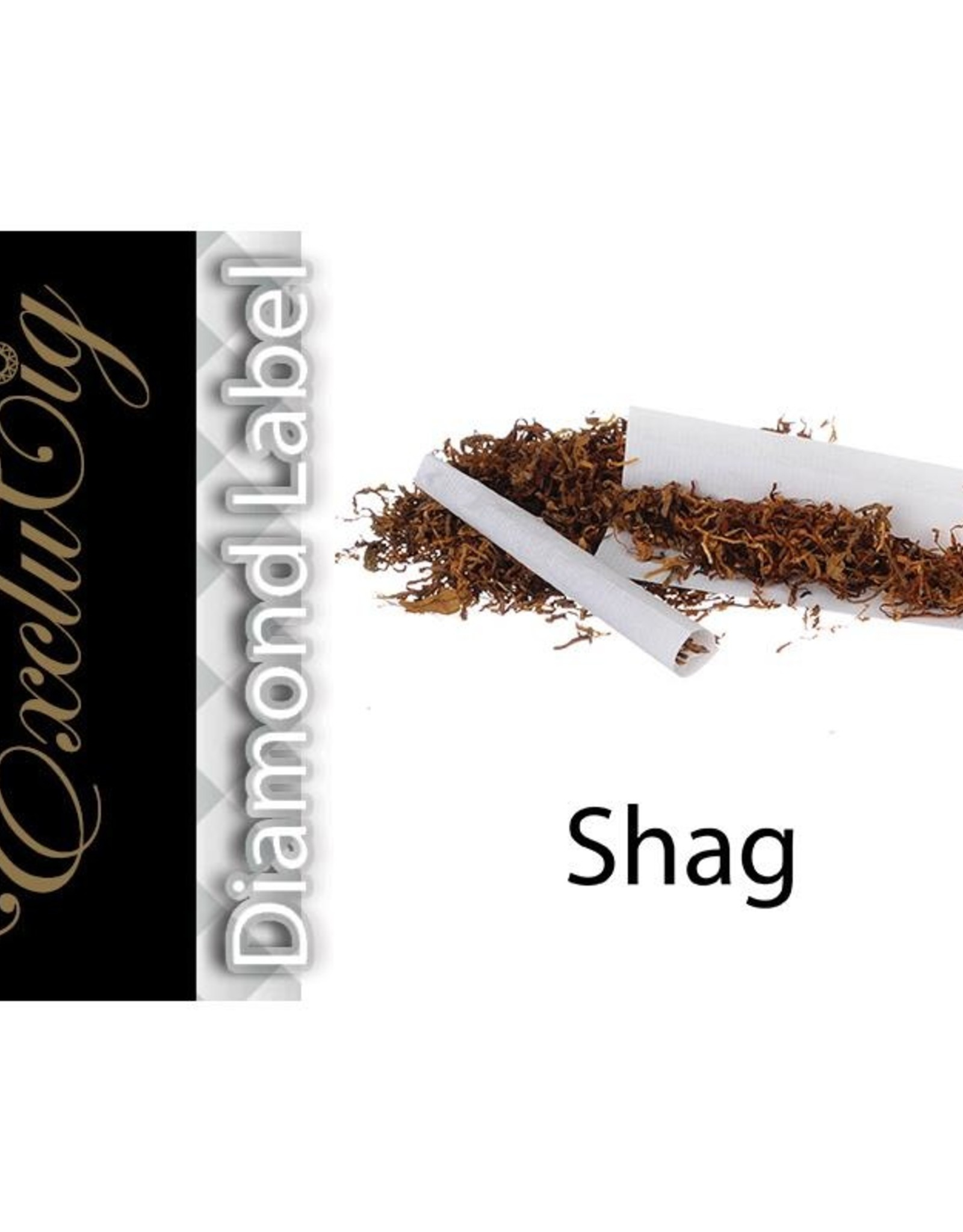 Exclucig Exclucig Diamond Label E-liquid Shag 12 mg Nicotine